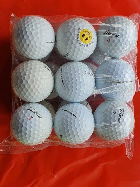 Combo 9 quả Bóng Golf Titleist Pro V1 . Bóng Chất Lượng Cao. Hàng Chính Hãng