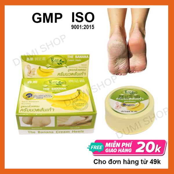 Kem Nứt Gót Chân Chuối Thái Lan Banana Cream Heels 30g - Dumi Shop