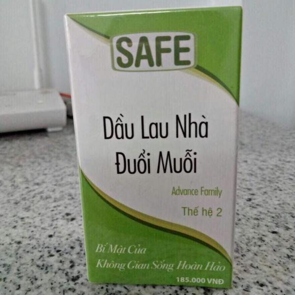 Dầu Lau Nhà Đuổi Muỗi Sacofe Safe 30Ml (Xanh)