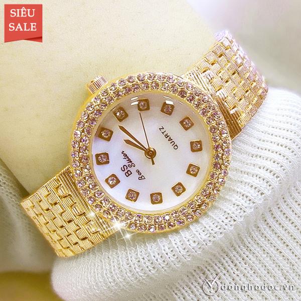 Nơi bán Đồng hồ nữ BS BEE SISTER ROXIE Mặt Xà Cừ Sang Trọng - Tặng Kèm Pin ĐH Dự Phòng - Đồng hồ nữ thời trang, Đồng hồ nữ thể thao, Đồng hồ nữ cao cấp, Đẹp,Sang trọng,Đẳng cấp, Bền, Giá Sốc, Đồng hồ nữ hàn quốc, Đồng hồ