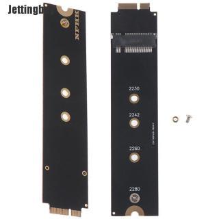 Jettingbuy M.2 (NGFF) Thẻ Ssd Chuyển Đổi 128G 256G Cho Macbook A1369 A1370 2010-2011 thumbnail