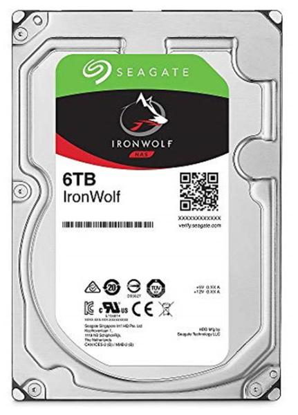 Bảng giá Ổ cứng HDD NAS Seagate Ironwolf 6TB 3.5 Sata ST6000VN001 Phong Vũ