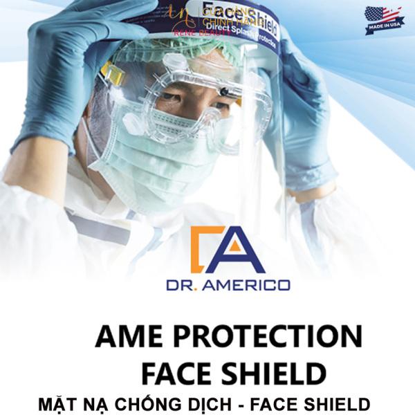 Mặt nạ chống dịch - Face Shield [Tấm Chắn Ngăn Giọt Bắn Face Shield; Ngăn Ngừa Văng Bắn; Phòng Dịch Hiệu Quả Tối Ưu Tiêu Chuẩn CE FDA]