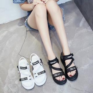 (Video 2 màu) Sandal nữ,sandal học sinh độn đế 5p fashion kiểu dáng mới siêu đẹp 6