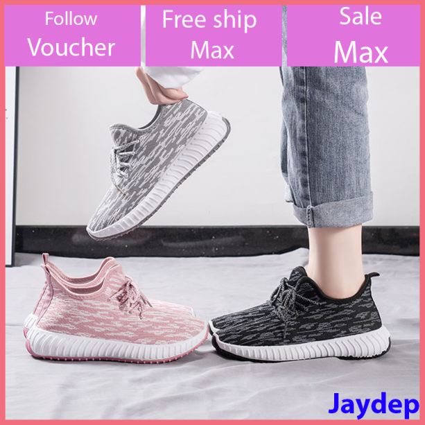 Giày sneaker thể thao nữ hàn quốc buộc dây siêu nhẹ V261 giá rẻ