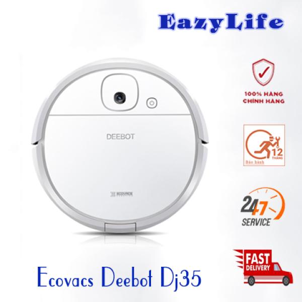 Máy Hút Bụi Lau Nhà Ecovacs DEEBOT DJ35 - Hàng Chưa Qua Sử Dụng, Mới 100%