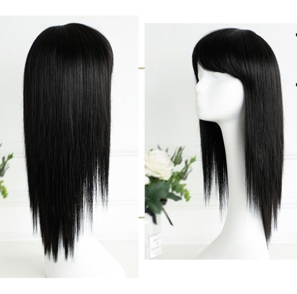 [TẶNG KÈM LƯỚI] Tóc giả nữ Hàn Quốc CÓ DA ĐẦU - TG11