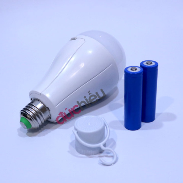 Bóng đèn LED sạc tích điện 20w 30w 40w AC/DC bóng đèn led cảm ứng thông mình - Đức Hiếu Shop