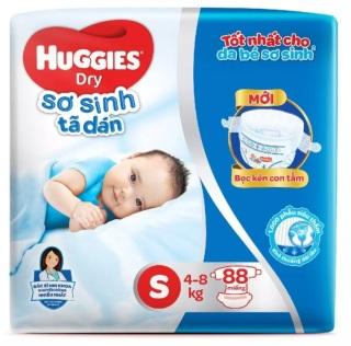 Tã Bỉm Dán Sơ Sinh Huggis S88 (4-8kg) thumbnail