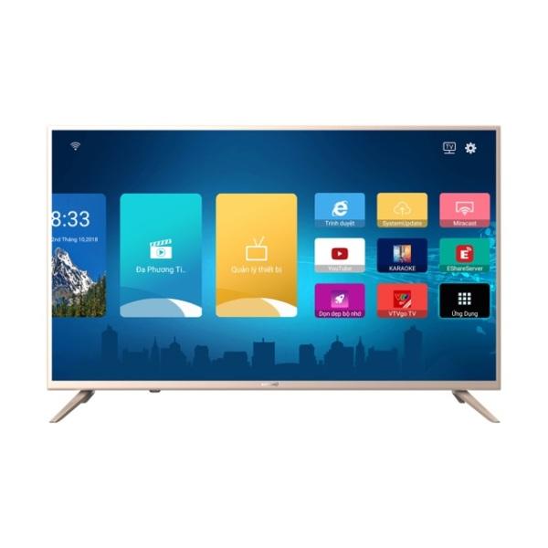 Bảng giá Smart Tivi Wifi LED Full HD 43 inch Asanzo 43AS550 (Miễn Phí 12 Tháng ClipTV, Tích hợp tìm kiếm giọng nói, DVB-T2, DVB-C) - Hàng Phân Phối Chính Hãng Bảo Hành 2 Năm