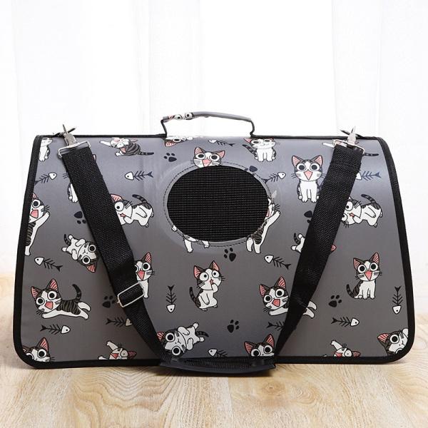 Túi vận chuyển chó mèo kích thước lớn thích hợp cho chó to 10kg đổ xuống, nhựa bền đẹp an toàn túi chắc chắn