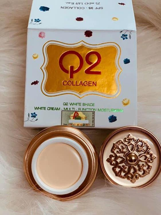 Kem Q2 vàng mẫu mới nhập khẩu