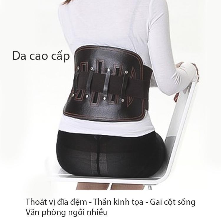 Đai lưng cột sống,Thoát vị đĩa đệm,Đau lưng ngồi nhiều-SIZE S eo 60-70cm