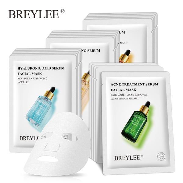 01 Mặt nạ đa chức năng axit hyaluronic vàng 24K BREYLEE giúp giữ ẩm nâng cơ ngừa mụn chống lão hóa - INTL giá rẻ