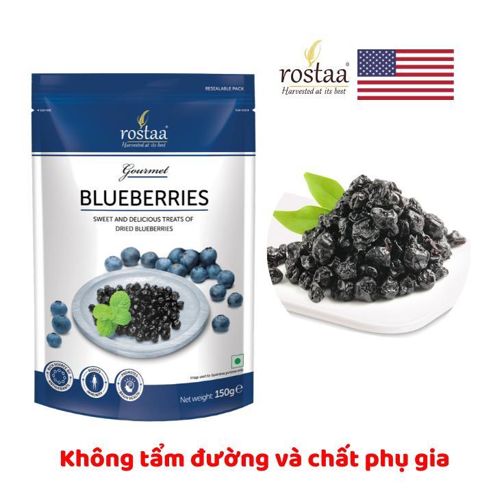 Giá Quá Tốt Để Mua [ Sản Phẩm Mỹ] Quả Việt Quất 150g - Blue Berries - Trái Cây Sấy Rostaa - Đồ ăn Vặt Cho Bà Bầu
