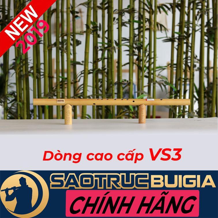 Sáo Mèo Nam (Tone Đô) Dòng cao cấp VS3 - Sáo trúc Bùi Gia - Cây sáo để chơi lâu dài