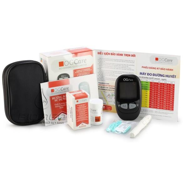 Nơi bán Máy đo đường huyết ogcare của ytaly tự động nhận mã que, sản phẩm đa dạng, chất lượng tốt, đảm bảo an toàn sức khỏe người sử dụng