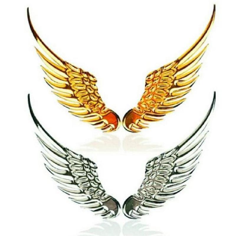 Logo Cánh Chim Ưng 3D Dán Cho Các Loại Xe Ô Tô