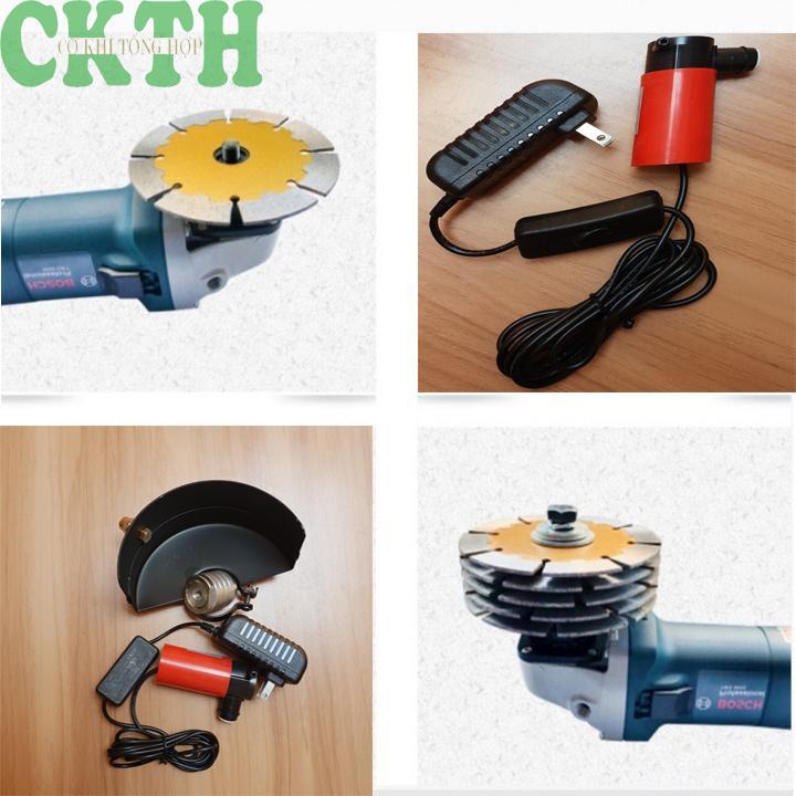 COMBO bộ chuyển đổi máy mài thành máy cắt rãnh tường và máy bơm mini