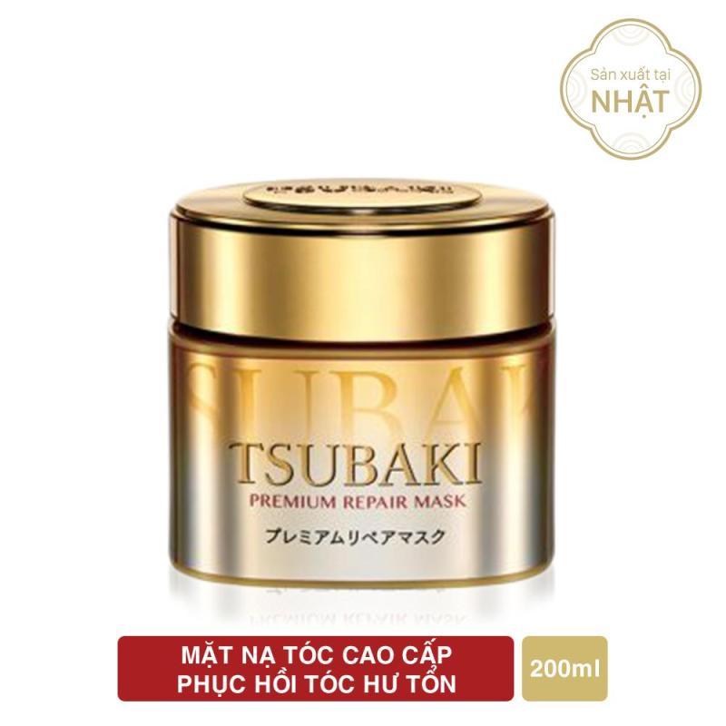 [SĂN DEAL 12k]  Mặt nạ phục hồi hư tổn tóc cao cấp Tsubaki Premium Repair Mask 180g