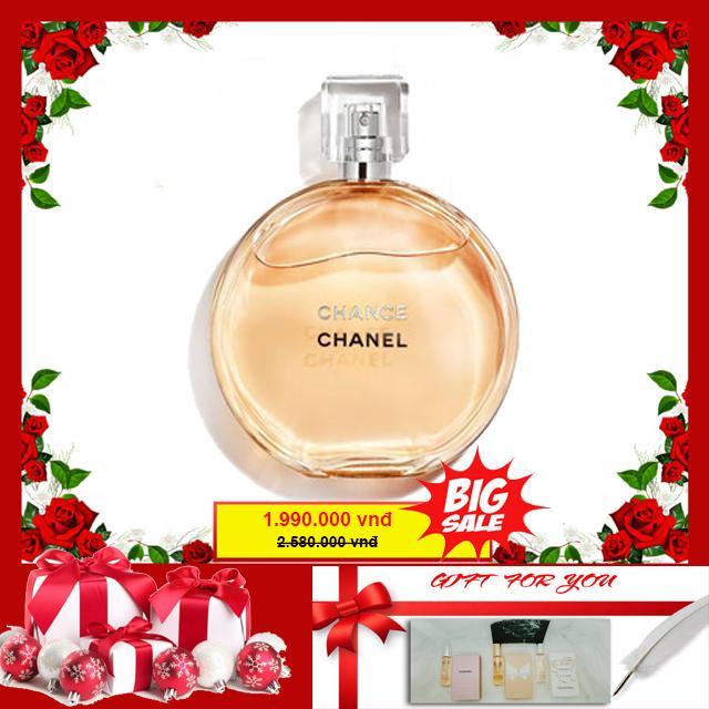 Nước hoa Chanel Chance EDP 100ml-Bill Pháp