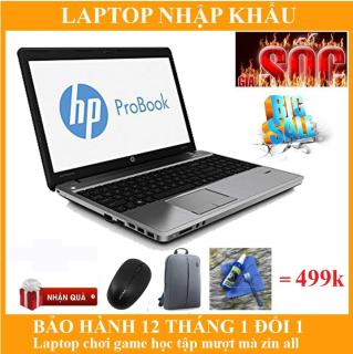 LAPTOP HP PROBOOK 4540S I5 4GB HDD 500GB. Nhập khẩu nguyên bản chính hãng, bảo hành 12 tháng. Tặng Balo + Chuột không dây + Bộ vệ sinh + Lót chuột thumbnail