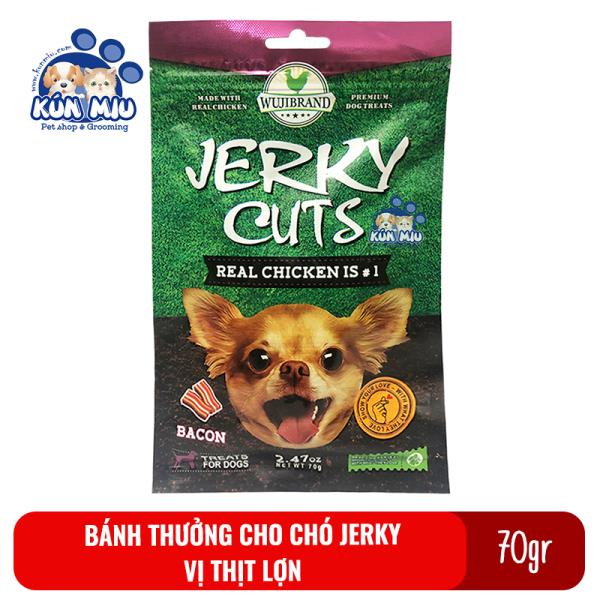 Bánh Thưởng Cho Chó Jerky 70Gr Vị Thịt Lợn