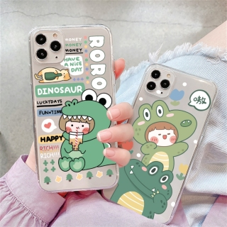 Ốp lưng iphone Silicon dẻo cao cấp mềm mịn in hình hoạ tiết Roro Dinosaurcho iPhone 6 6s 6Plus 6sPlus 7 7Plus 8 8Plus X XS XR XS max 11 11 Pro 11 Pro Max 12 12mini 12promax T34 thumbnail