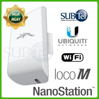 Thiết bị wifi chuyên dụng Ubiquiti AirMax Nanostation Loco M2- SUBtel thumbnail