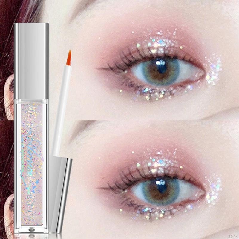 HATOLA - Nhũ mắt màu ánh kim tuyến, Nhũ Lỏng trang điểm thời thượng lấp lánh ngôi sao Nội địa trung HTL-NHU MAT 01