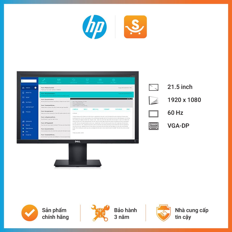Màn hình Dell E2220H (21.5 inch/FHD/TN/60Hz/5ms/250 nits/VGA+DP)