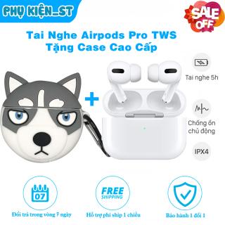 [FreeShip] Tai Nghe Bluetooth Airpods Pro TWS , Đổi Tên , Sạc Không Dây - Tặng Case Cao Cấp thumbnail