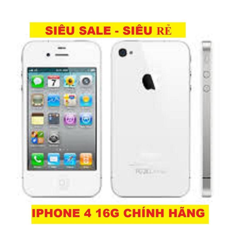[Siêu Rẻ - Siêu Sốc] - IPHONE 4 16G - bản Quốc Tế - Đủ màu - Nghe gọi tốt