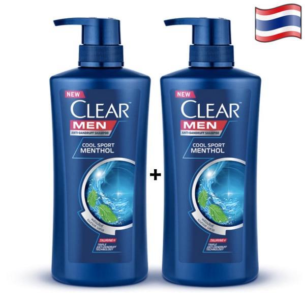2 CHAI DẦU GỘI CLEAR MEN - THÁI LAN - 450ml/chai
