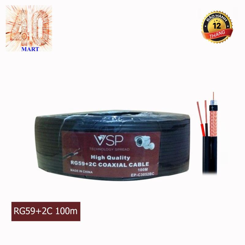 Bảng giá Cáp đồng trục camera kèm cấp nguồn VSP-EP-C3050S - 100M- 200M Phong Vũ