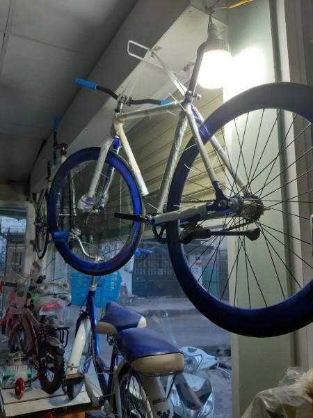 Mua Xe đạp thể thao FIXED GEAR- Hai màu Dương Và Đen Tuỳ chọn - Hợp kim thép carbon siêu nhẹ-Trẻ trung cá tính dành cho dân sành điệu