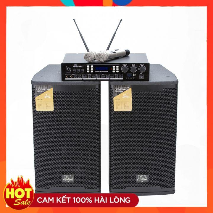 Loa karaoke gia đình SHIDUN cao cấp chính hãng nhập khẩu giá rẻ, dàn âm thanh 3 tấc nhập khẩu công suất lớn, loa karaoke Blutooth chuyên nghiệp chất lượng toàn quốc