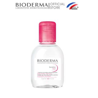 Dung dịch làm sạch và tẩy trang micellar cho da thường và da nhạy cảm Bioderma Sensibio H2O - 100ml thumbnail