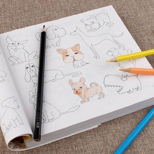 Sách Tô Màu 10000 Hình Vẽ