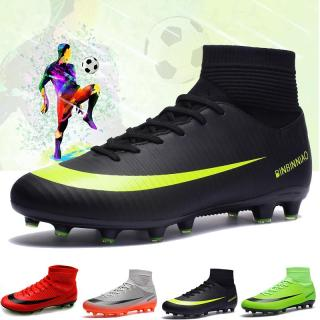 Giày thể thao cho nam STRUCK thiết kế có đinh tán ở đế giày cổ cao phù hợp cho vận động ngoài trời cỡ lớn 36-45 - INTL thumbnail