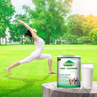 Sữa bột Dr. Nutri Canxi Glucosamin 900gr thumbnail