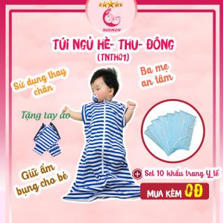 Túi Ngủ Cho Bé NOONON Hè Thu Mã TNHT01- Chăn Hè Cho Bé Ngủ Ngon thumbnail