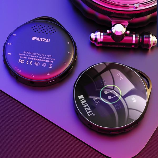 Máy nghe nhạc MP3 Bluetooth cao cấp Ruizu M10 - Màn hình cảm ứng 1.8inch - Máy nghe nhạc Lossless Ruizu M10