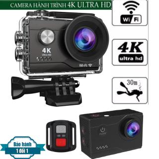 Camera Hành Trình Chống Rung 4k Ultra WIFI- Tặng Thẻ 32G- Sắc nét, Chống nước- Chống Rung- Màn hình 2-inch LTPS LCD.- Góc quay 170 đỘ- -Ngôn ngữ hỗ trợ Tiếng Việt- Bảo Hành 1 Đổi 1 thumbnail