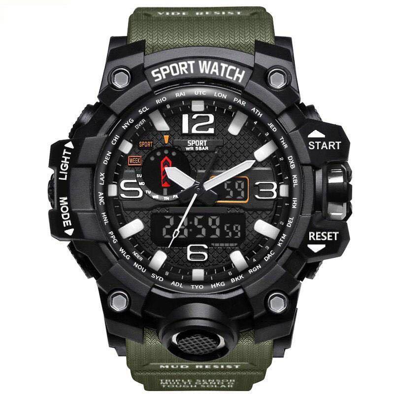 Đồng Hồ Nam Sport Watch - 2 Máy Chạy Song Song - Đẳng Cấp Quân Đội bán chạy