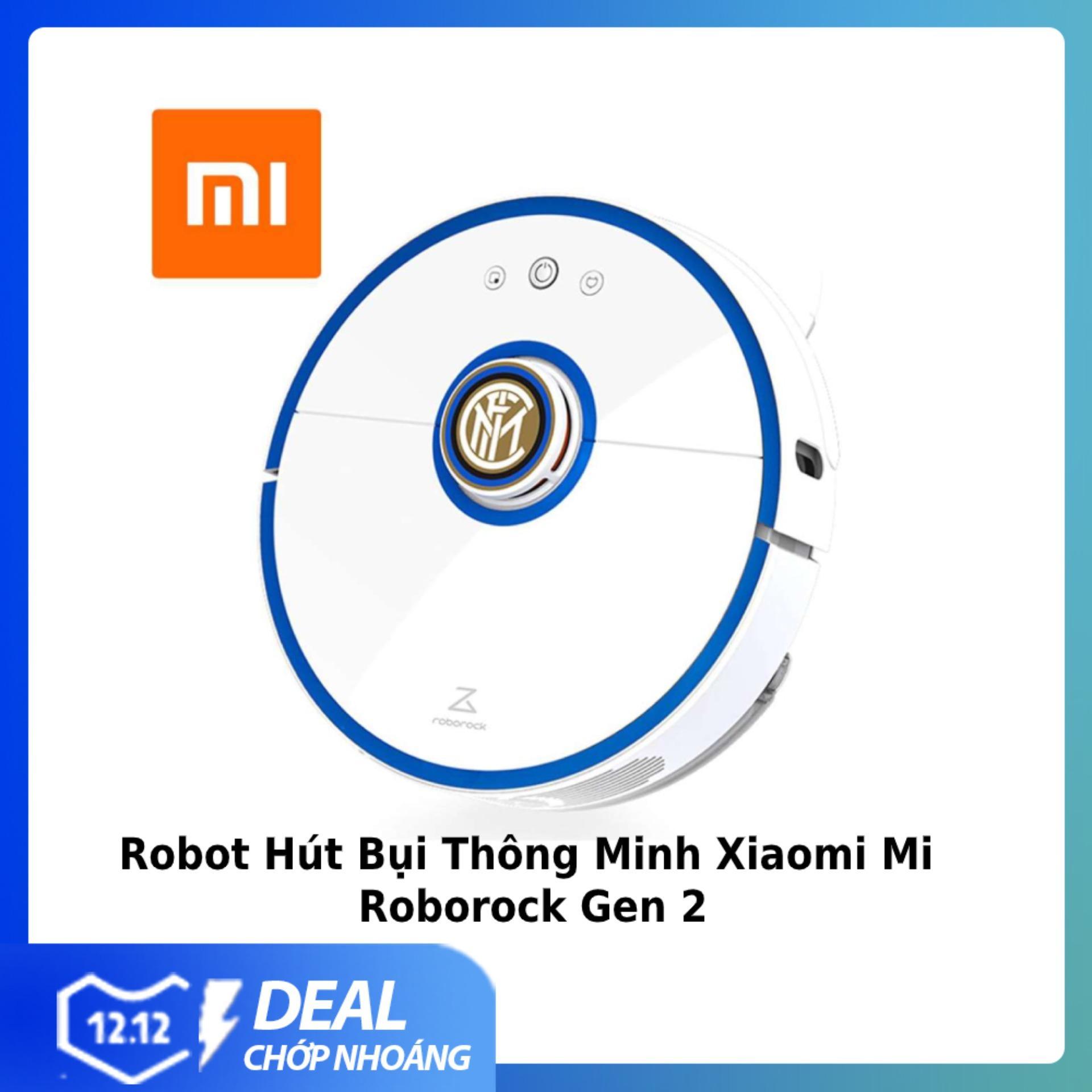 [Bản Quốc Tế] Robot Hút Bụi Thông Minh Xiaomi Mi Roborock  Gen 2 - S50 / S51 / S52 / S55  Áp Suẩt Hút 2000 Pa - Dung Lượng 5200 MAh-Bảo Hành 6 Tháng Siêu Khuyến Mại