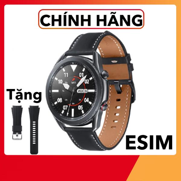 Đồng hồ thông minh Samsung Galaxy Watch 3 Phiên bản 45mm ESIM/LTE Chính Hãng