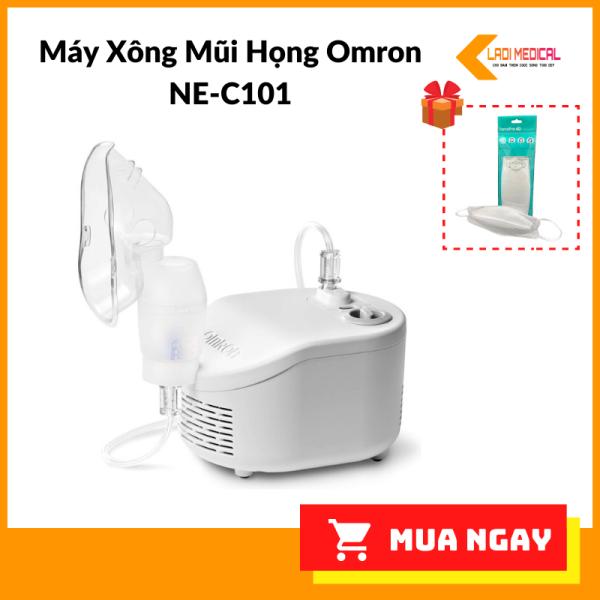 Máy Xông Mũi Họng Omron NE-C101 nhập khẩu