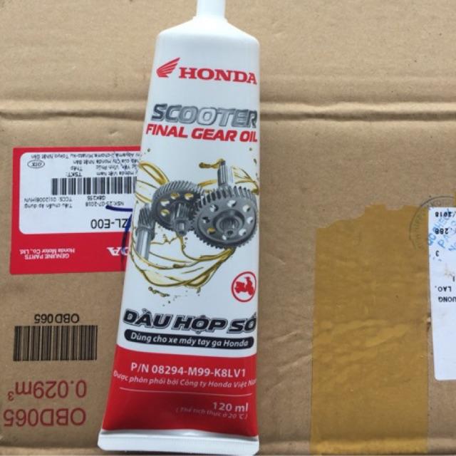 Dầu nhớt láp (hộp số) xe tay ga Honda