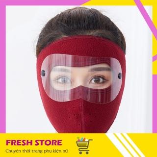 Khẩu Trang Ninja Nin Ja Nam Nữ Vải Nỉ Che Kín Mặt Chống Nắng Chống Bụi Có Kính NCK28 - Khau Trang Ninja Nin Ja Nam Nu Vai Ni Che Kin Mat Chong Bui Chong Nang Chong Ret Co Kinh - Freshstore thumbnail